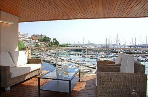 First class duplex apartment with fantastic views over the port of Palma de Mallorca