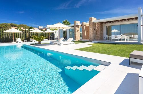 Stylish designed luxury villa with dreamlike panoramic sea view