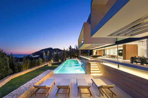 High-end design villa with panoramic sea views