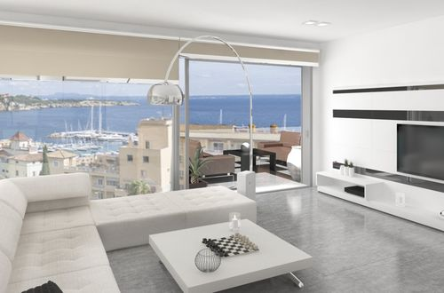 Exclusive and new luxury sea view apartment near Illetas