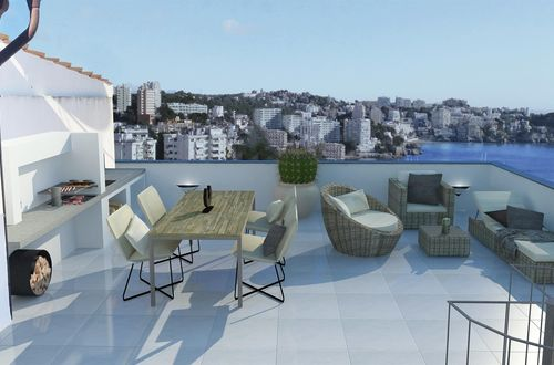 Exclusive duplex penthouse with amazing sea views