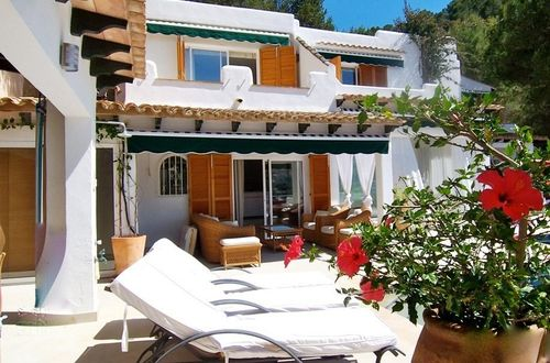 Luxury villa with fantastic sun terraces and breathtaking view over the marina of Port Andratx