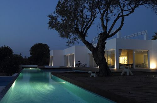Modern villa in Ibiza with a perfect location with complete privacy