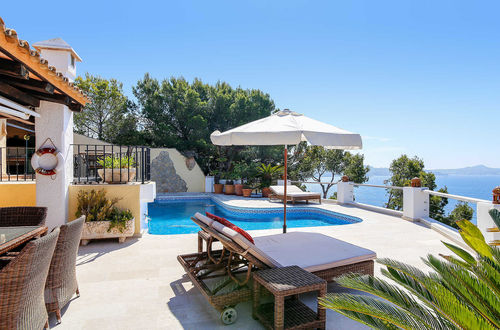 Dream villa in Pedro Otzoup style with panoramic sea views in Cala Fornells