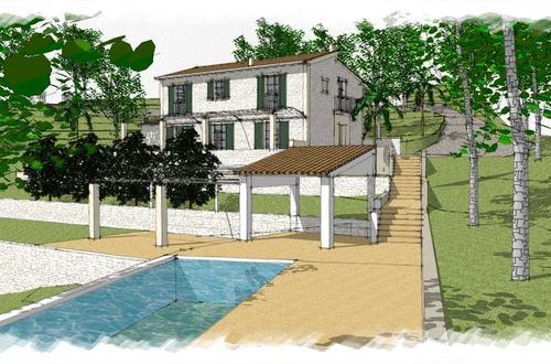 Project for an idyllic villa with the highest quality standards in Son Font