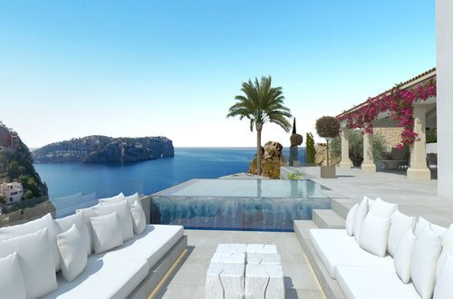 Project for an excellent villa with panoramic sea views in Cala Moragues
