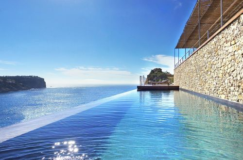 Designer villa above the sea with spectacular panoramic views