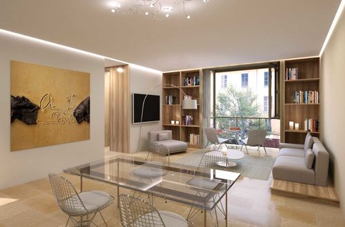 New construction of a duplex penthouse with roof terrace in the heart of Palma
