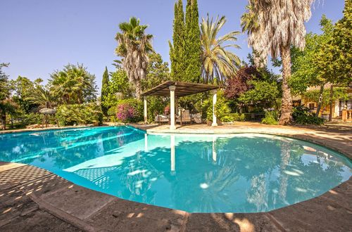 Traditional Mallorcan finca in the outskirts of Palma