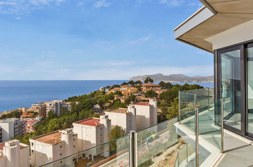Modern newly built luxury villa with stunning views in Santa Ponsa