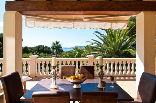 Dreamlike sea view villa in a Mallorcan style in Costa de los Pinos
