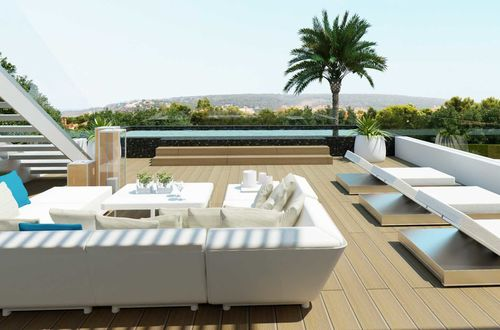 Construction project for a spectacular villa in a perfect location with panoramic sea views