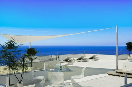 Fantastic opportunity to purchase a luxury penthouse with magnificent panoramic sea view