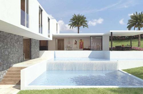 Exclusive construction project for a magnificent villa with beautiful sea view
